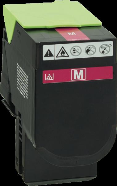 80C2HM0 Rebuilt Tonerkassette magenta