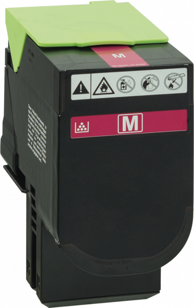 70C2XM0 Rebuilt Tonerkassette magenta