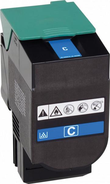 C544X1CG Rebuilt Tonerkassette cyan