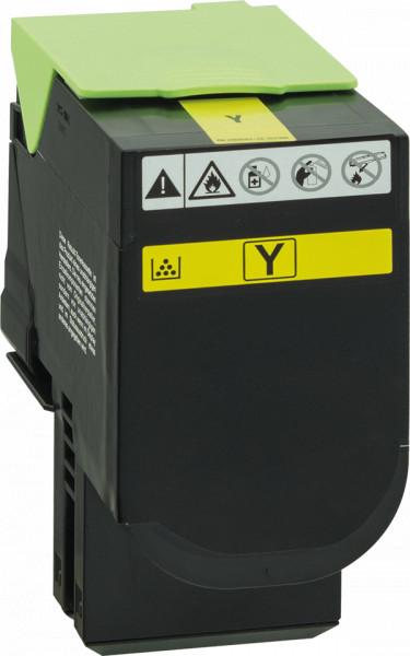 70C2XY0 Rebuilt Tonerkassette gelb