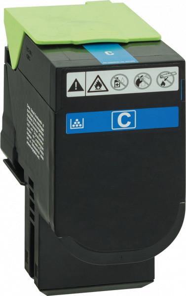 70C2XC0 Rebuilt Tonerkassette cyan