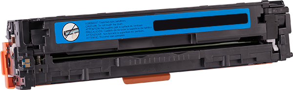 CB541A Rebuilt Tonerkassette cyan