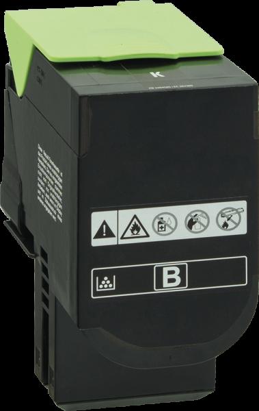 80C2SK0 Rebuilt Tonerkassette schwarz