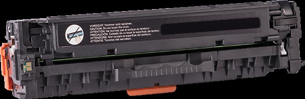 CC530A Rebuilt Tonerkassette schwarz